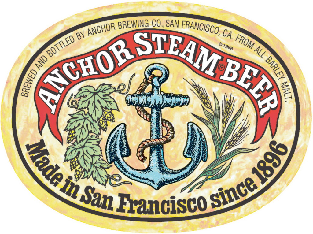 logo anchor steam cerveza