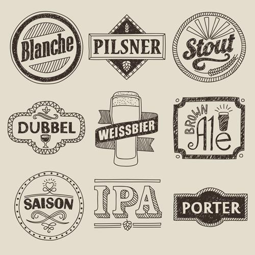 Historia de la cerveza: estilos