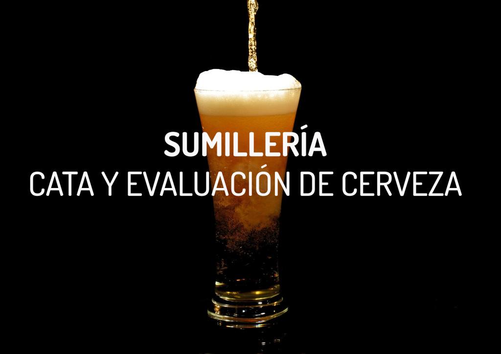 sumillería cata evaluación de cerveza