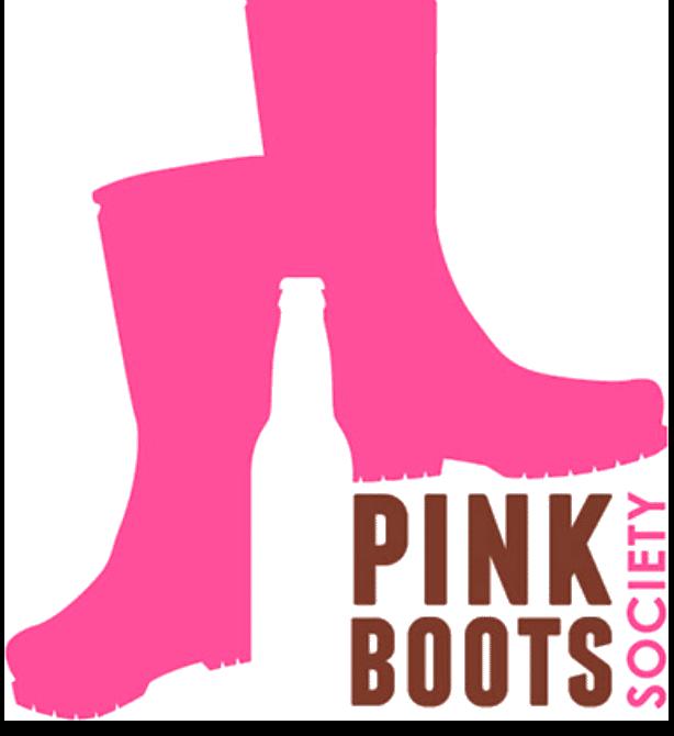 Pink boots society Logo Transparente