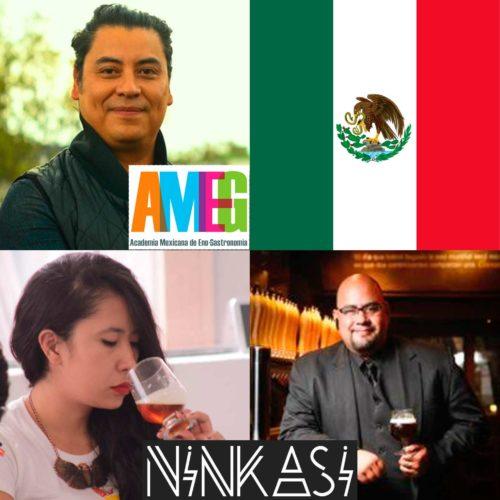 También llevaremos nuestros cursos y talleres a México gracias a AMEG y Ninkasi