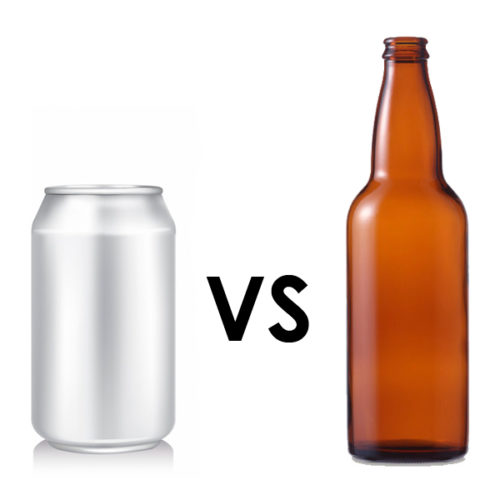 Cerveza: ¿Lata o botella?