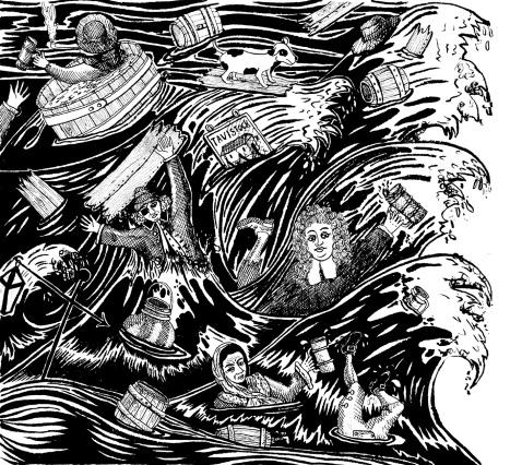 La inundación de cerveza de 1814