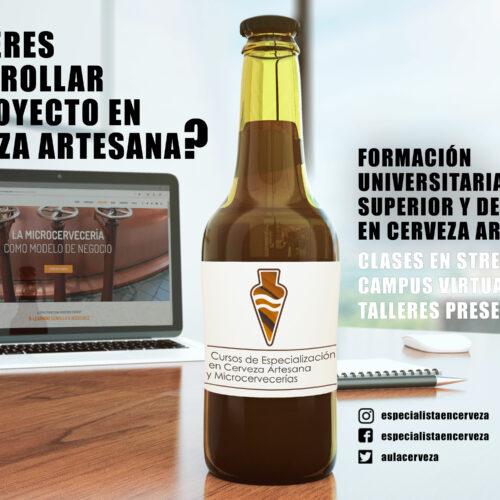 Curso online de cerveza artesanal dirigido a emprendedores